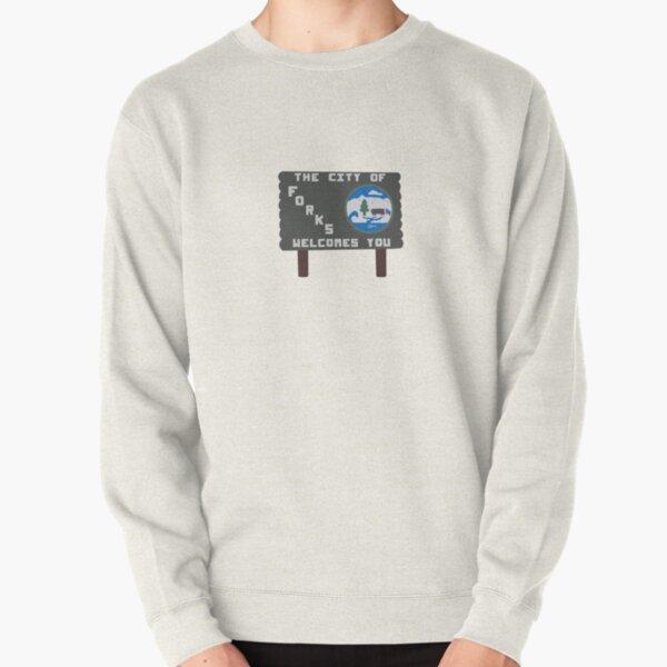 Forks, Washington sign  Pullover Sweatshirt