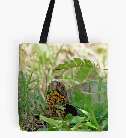 Hello Mr. Box Turtle Tote Bag