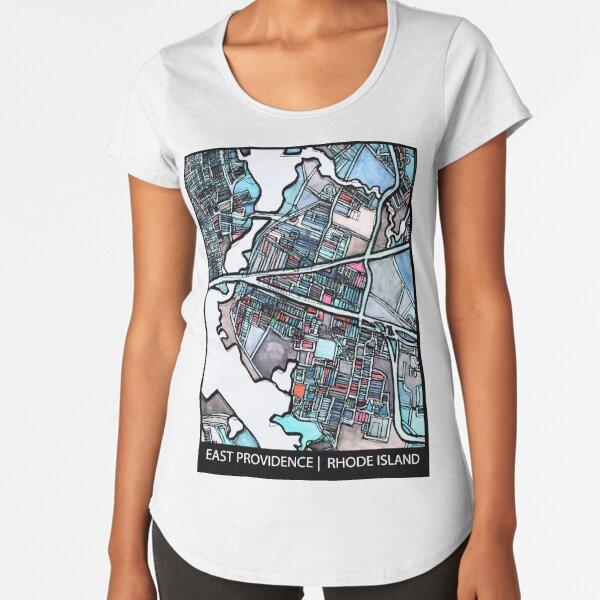 East Providence, RI Premium Scoop T-Shirt
