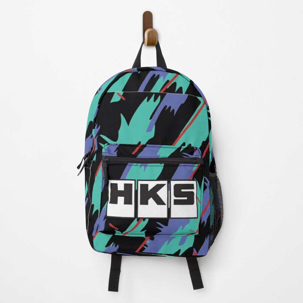 HKS Retro Pattern Backpack