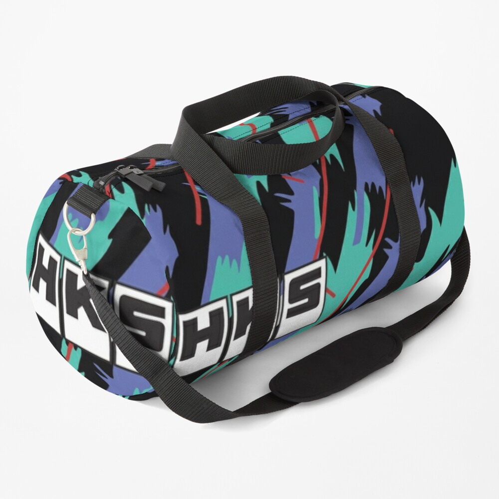 HKS Retro Pattern Duffle Bag