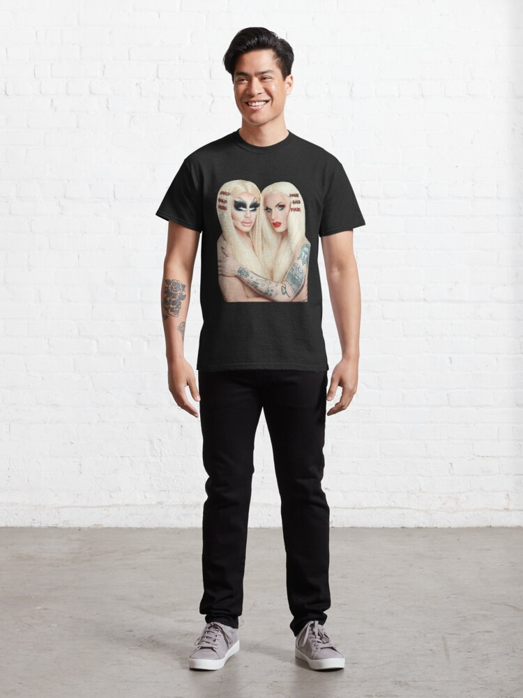 Alternate view of Trixie and Katya Book UNHhhh Classic T-Shirt
