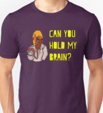 Can You Hold My Brain? (Ood) - Yellow T-Shirt