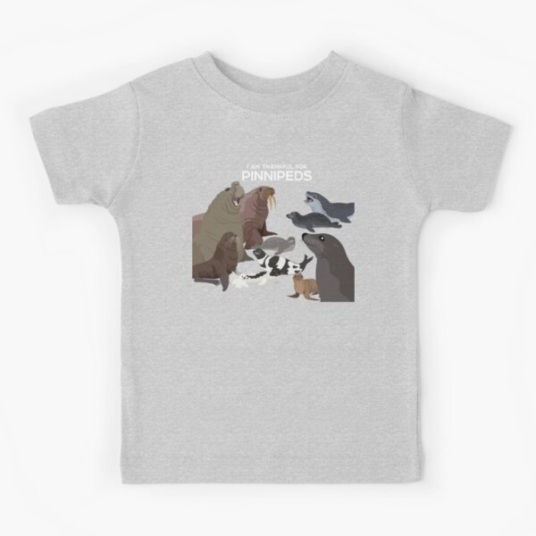 I Am Thankful For Pinnipeds Kids T-Shirt