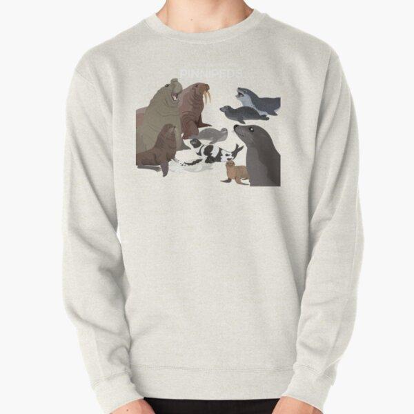 I Am Thankful For Pinnipeds Pullover Sweatshirt