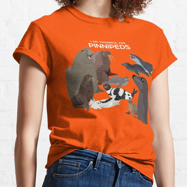 I Am Thankful For Pinnipeds Classic T-Shirt