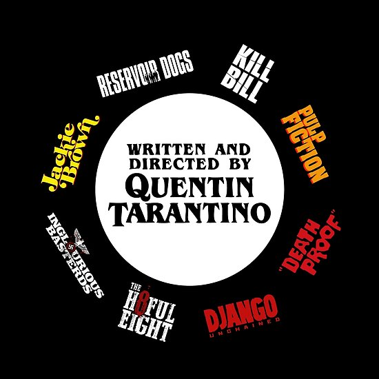 Quentin Tarantino Films by Alex Winters