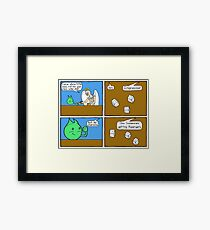 Rolling for Charisma  Framed Print