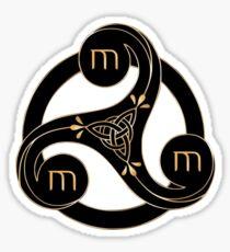 Merlin-symbol Sticker