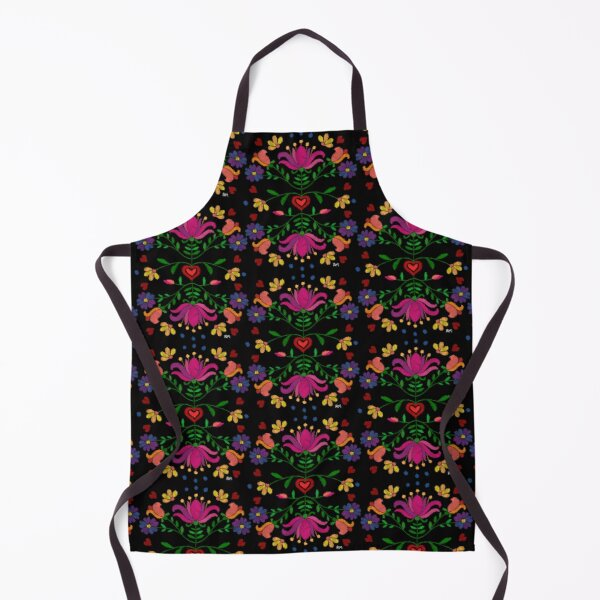 Colorful Mexican Embroidery Apron