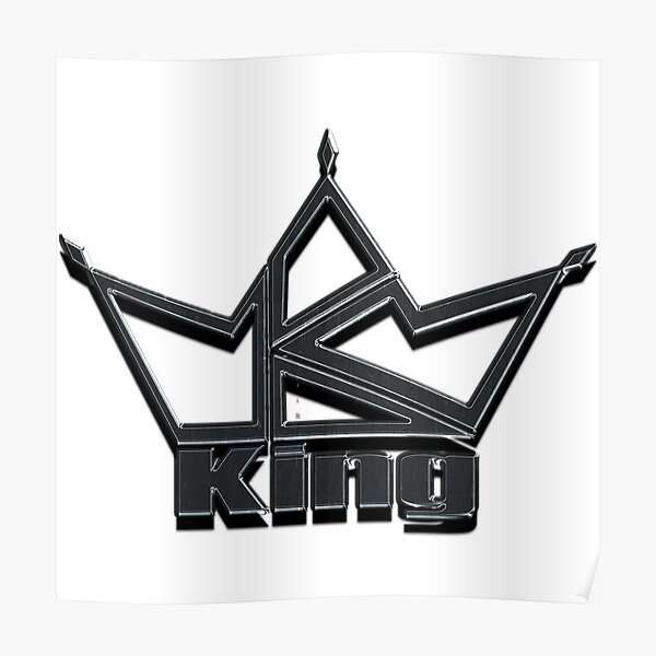 King by Design Poster