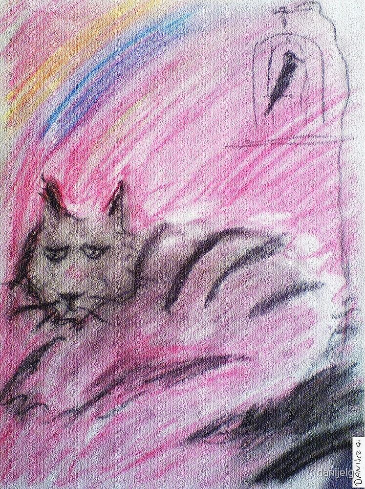 cat  by danijelg