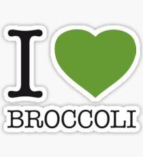 I ♥ BROCCOLI Sticker