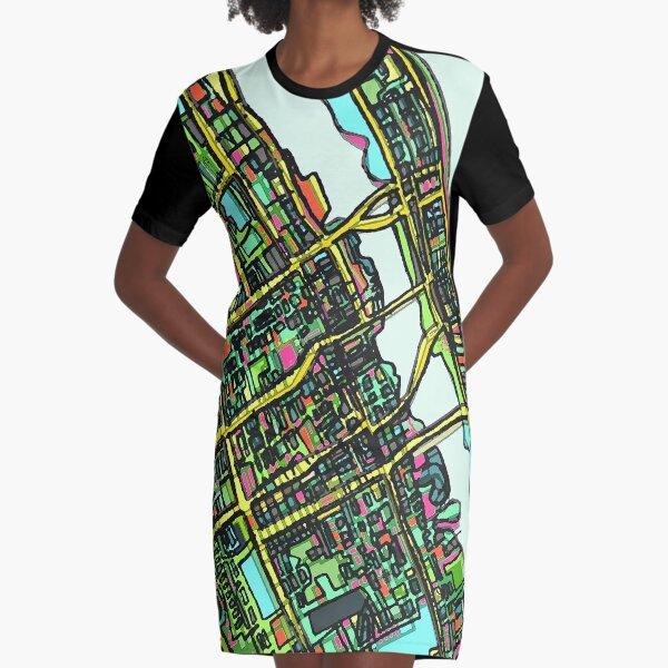 Daytona Beach, FL Graphic T-Shirt Dress