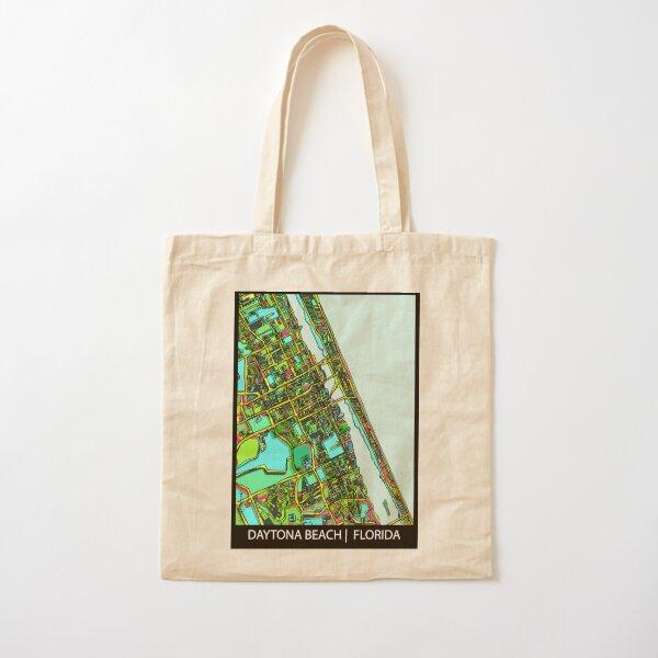 Daytona Beach, FL Cotton Tote Bag