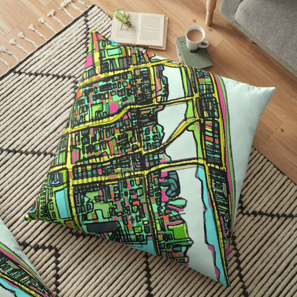 Daytona Beach, FL Floor Pillow
