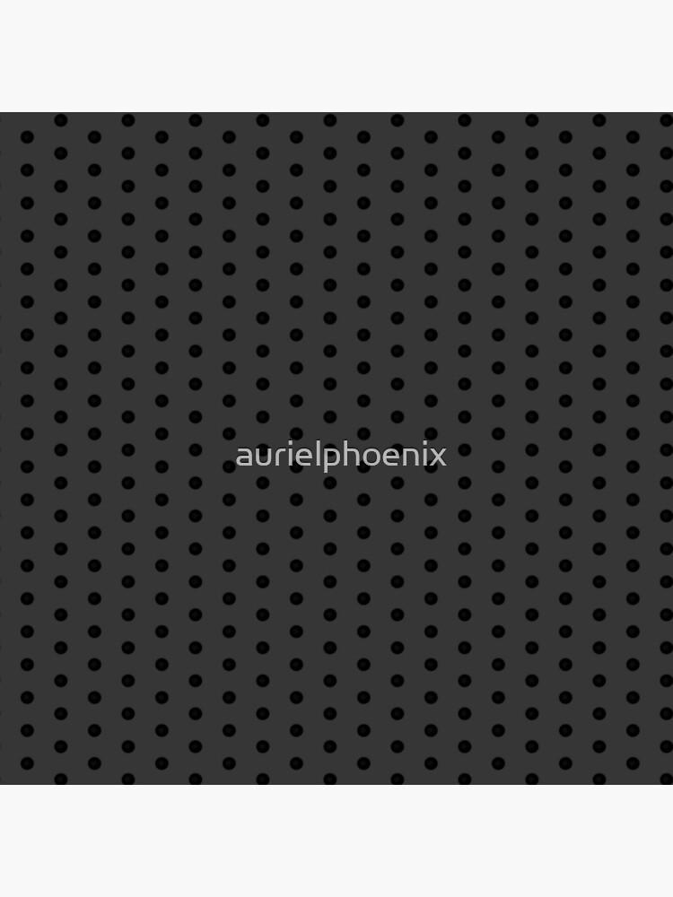 Dark Grey Black Rockabilly Pattern by aurielphoenix