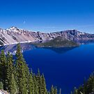 Crater Lake by David F Putnam