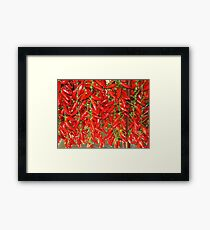 PEPPER MARKET Framed Print