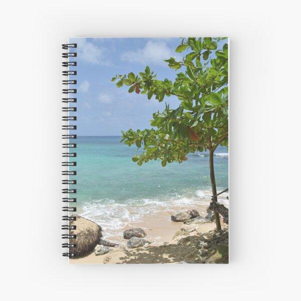Playa preciosa Cuaderno de espiral