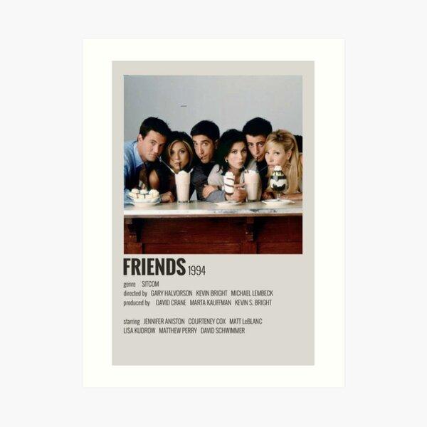 Cartel de amigos Lámina artística