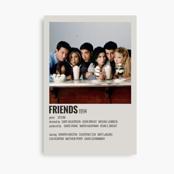 FRIENDS poster Canvas Print