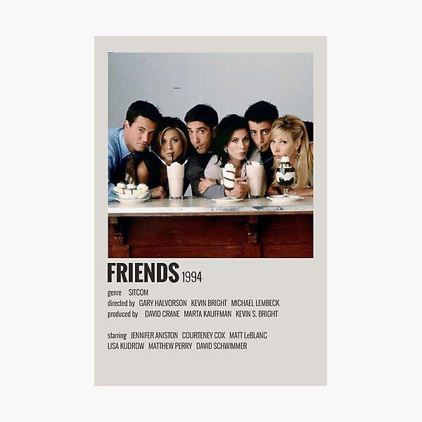 Cartel de amigos Lámina fotográfica