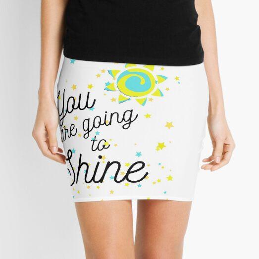 You are going to Shine #3 Mini Skirt