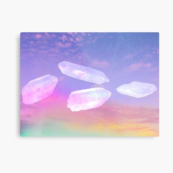 Crystal Sky Metal Print