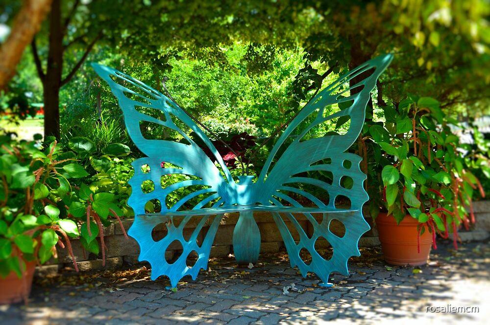 The Butterfly Bench by rosaliemcm