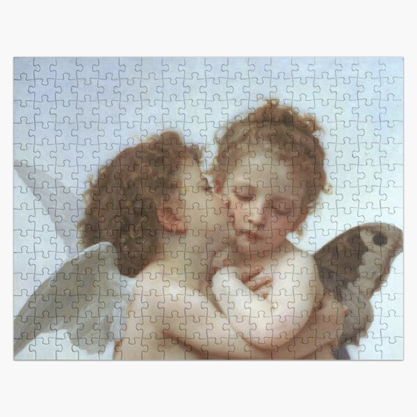 Lamour and Psyche Children – (William Adolphe Bouguereau) Jigsaw Puzzle