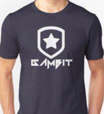 Gambit Gaming Future Logo (white) Unisex T-Shirt