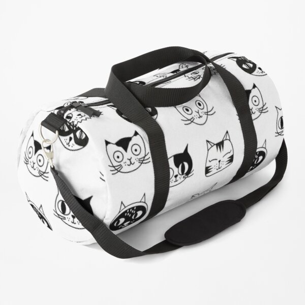 cats lover patterns Duffle Bag
