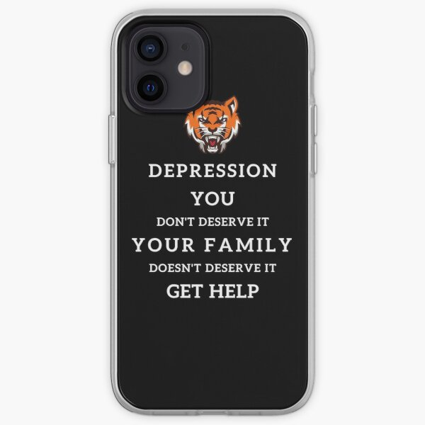 Depression - Get Help iPhone Soft Case