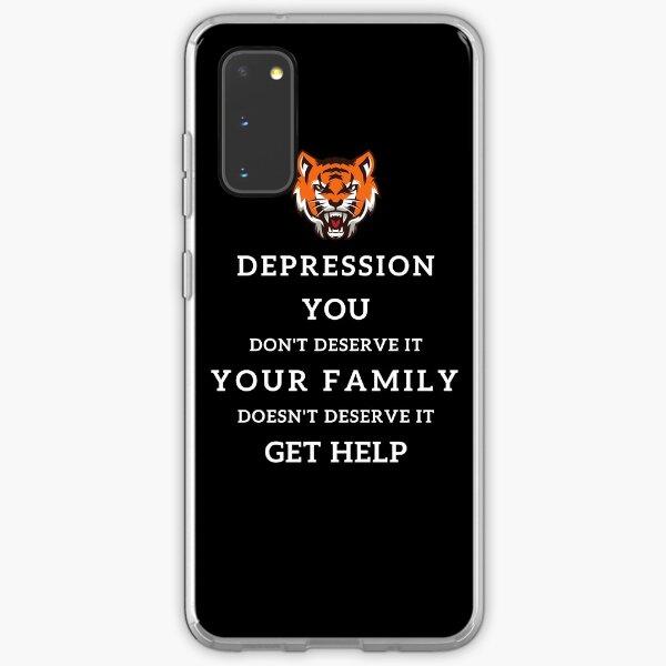 Depression - Get Help Samsung Galaxy Soft Case