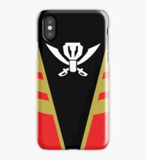 Gokaiger Suit – Gokai Red iPhone Case/Skin