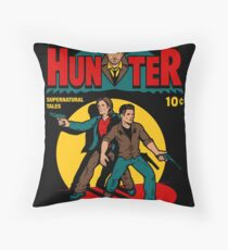 Hunter Comic Throw Pillow
