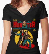 Jäger Comic Shirt mit V-Ausschnitt