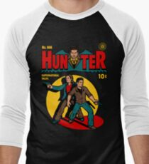 Jäger Comic Baseballshirt für Männer