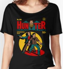 Hunter Comic Women's Relaxed Fit T-Shirt