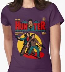 Hunter Comic Womens Fitted T-Shirt