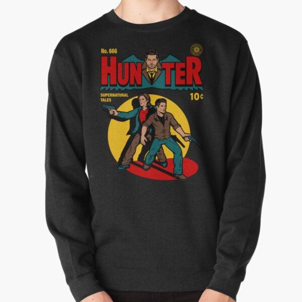 Hunter Comic Pullover Sweatshirt