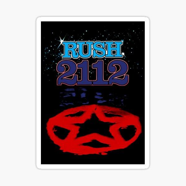 Rush 2112 (1976) Sticker