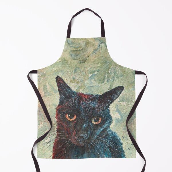Pooky the Black Cat Apron