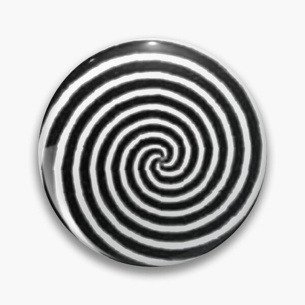 #Spiral #Target #Pattern #Hypnosis illusion vortex  striped circle  Pin