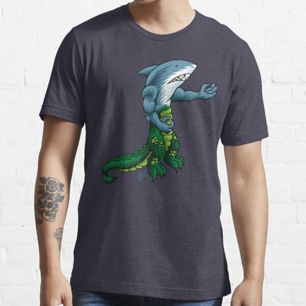 Alligator Shark Man Essential T-Shirt
