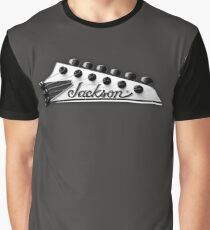 Jackson Headstock Graphic T-Shirt