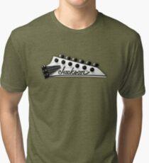 Jackson Headstock Tri-blend T-Shirt