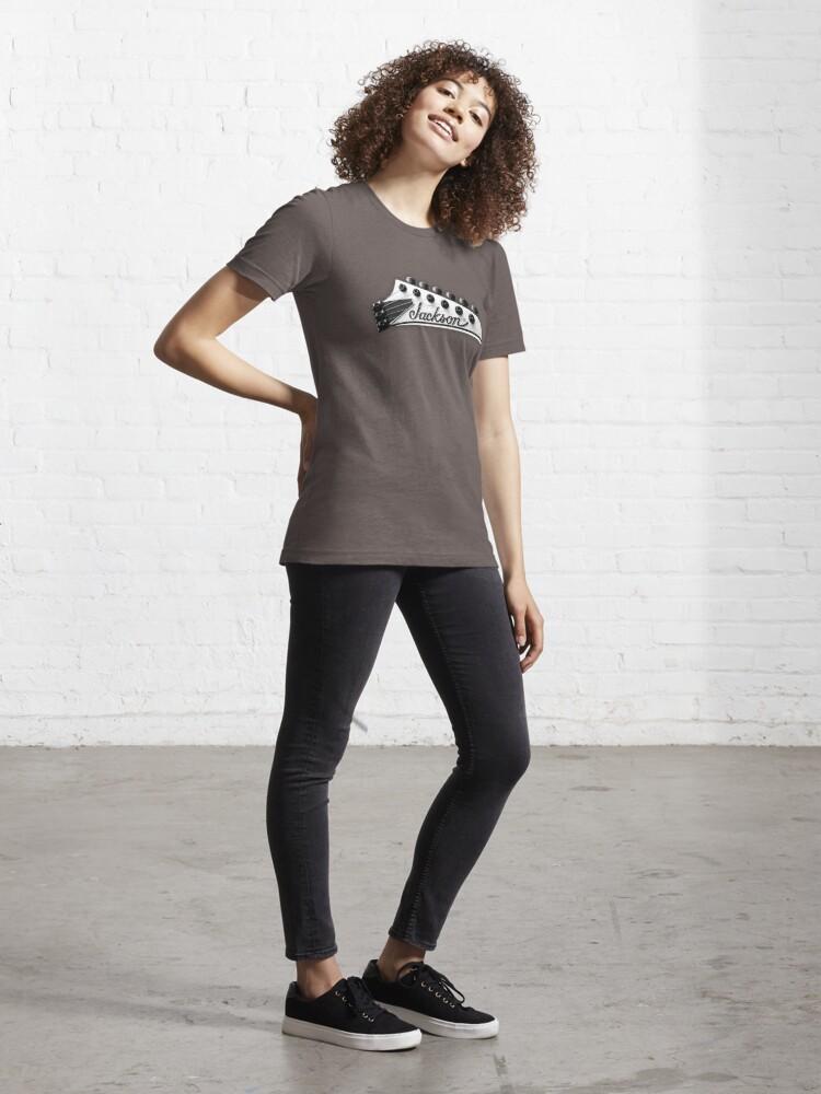 Alternate view of Jackson Headstock Essential T-Shirt