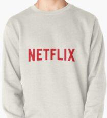 Netflix logo  Pullover Sweatshirt